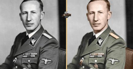 Renklendirme Çalışması – Reinhard Heydrich