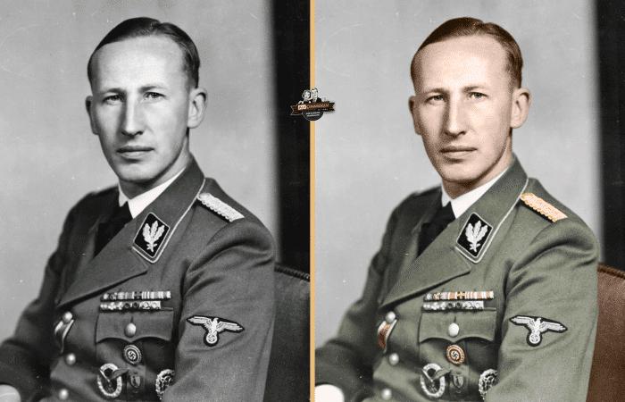 Fotoğraftaki isim SS Şefi Reinhard Heydrich