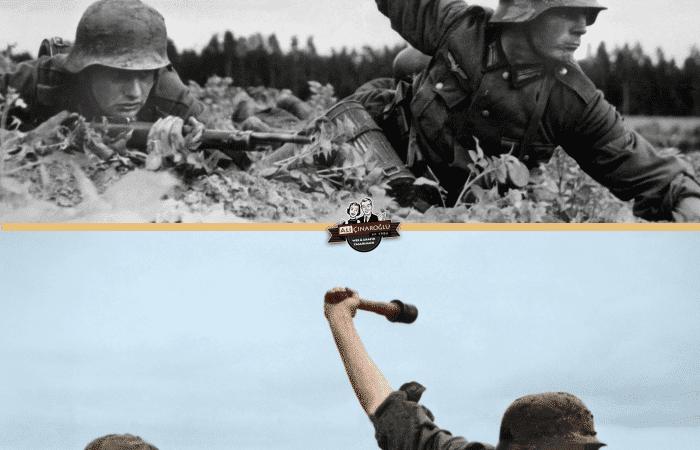 İkinci dünya savaşı ile ilgili en çok bilinen fotoğraflardan birisini renklendirdim.