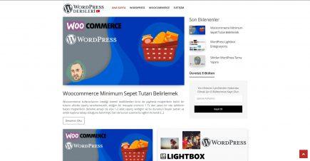WordPress Dersleri